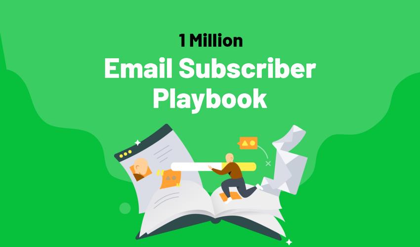 100 万电子邮件订阅者手册