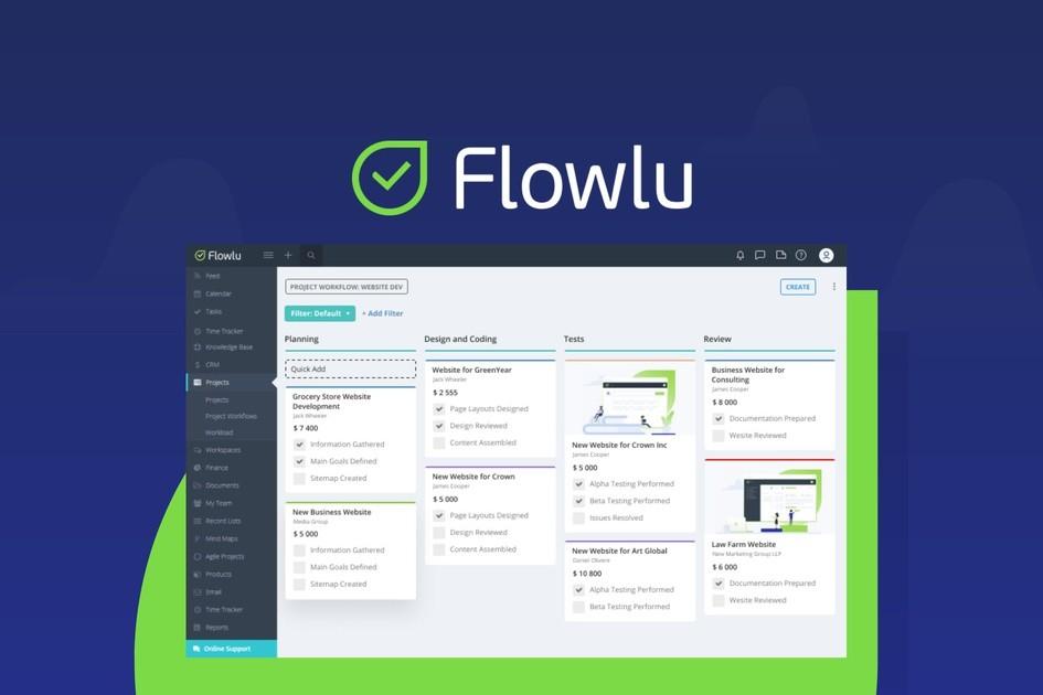 Flowlu | Exclusive Offer from AppSumo