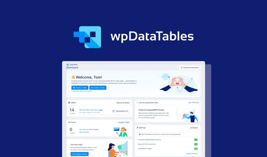 Wpdatatables Lifetime Deal-Pay Once And Never Again