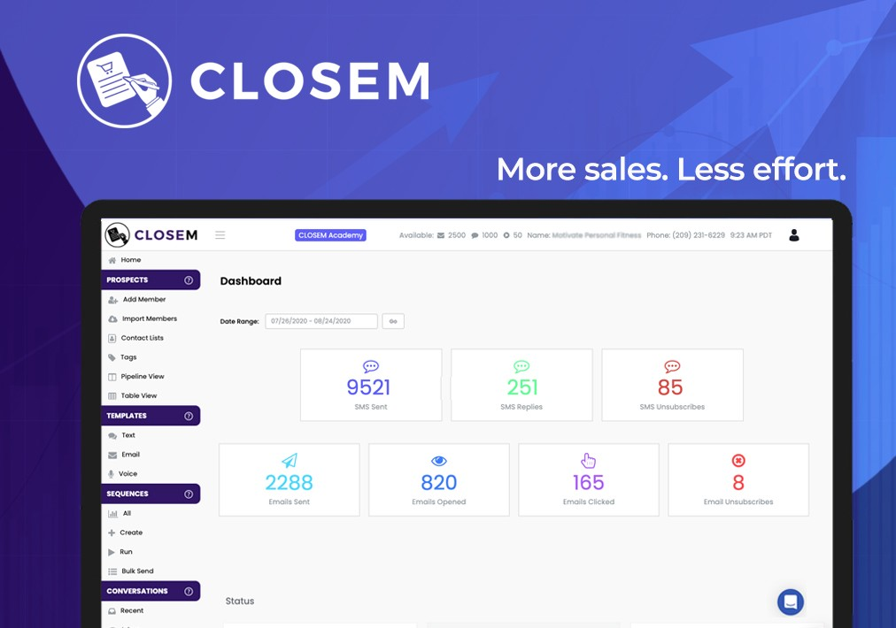 CLOSEM Lifetime Deal-Pay Once And Never Again