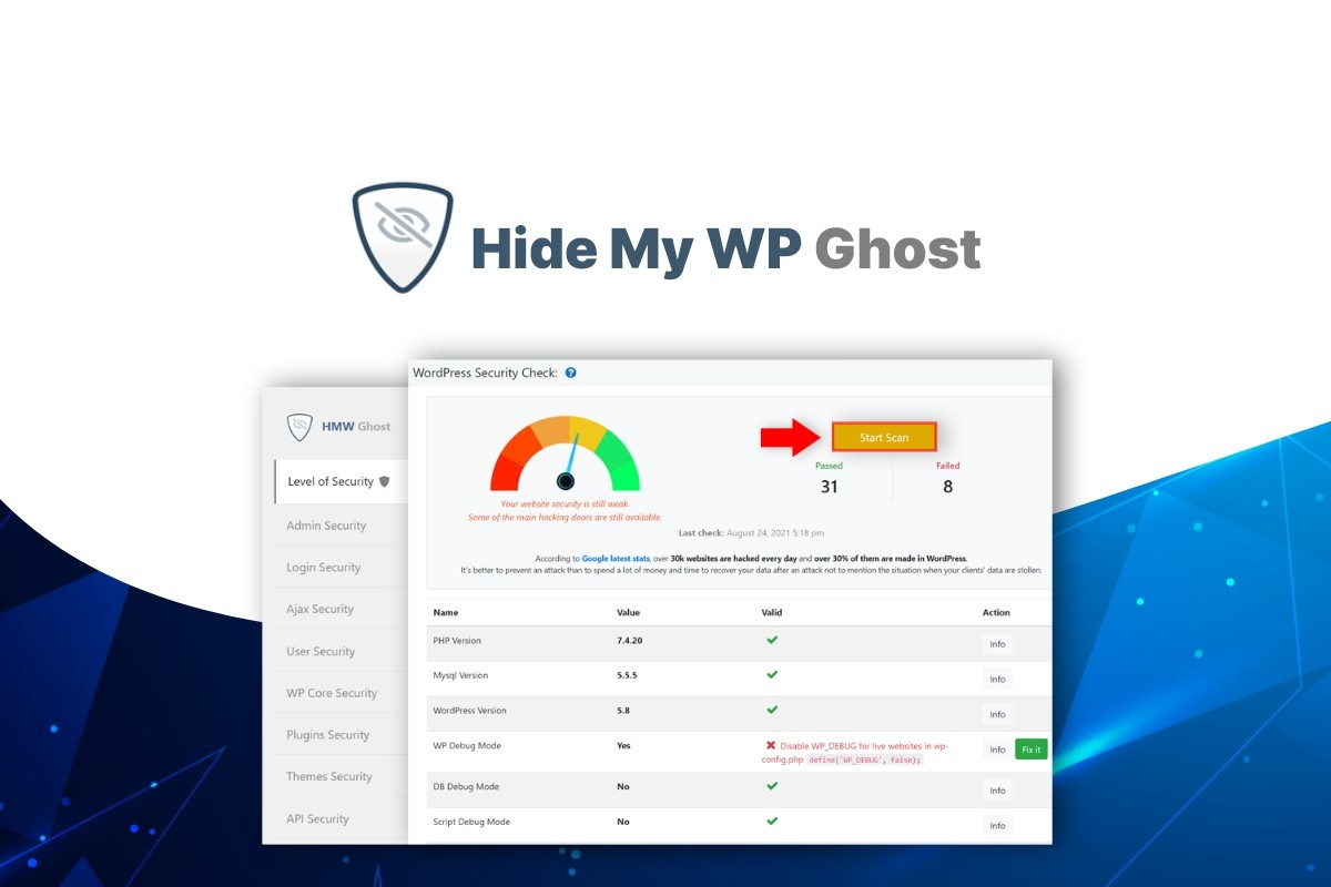 AppSumo Deal for Hide My WP Ghost by Squirrly