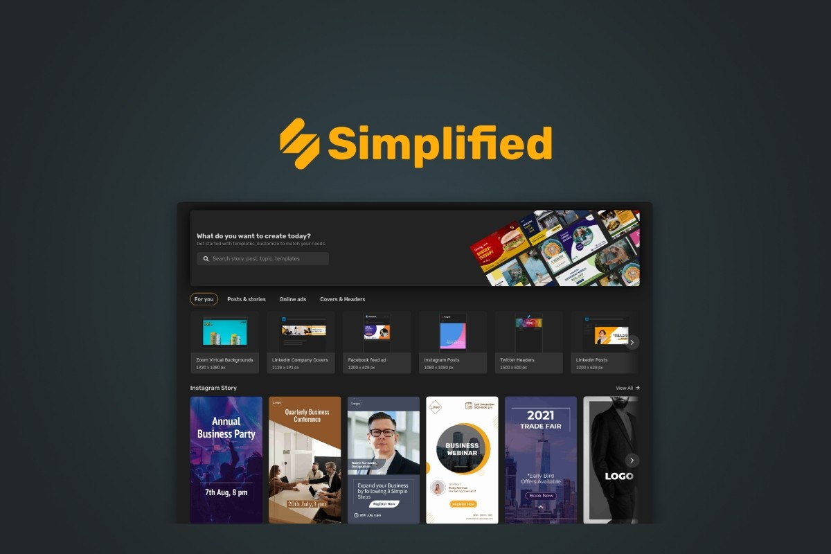 AppSumo Deal for Simplified