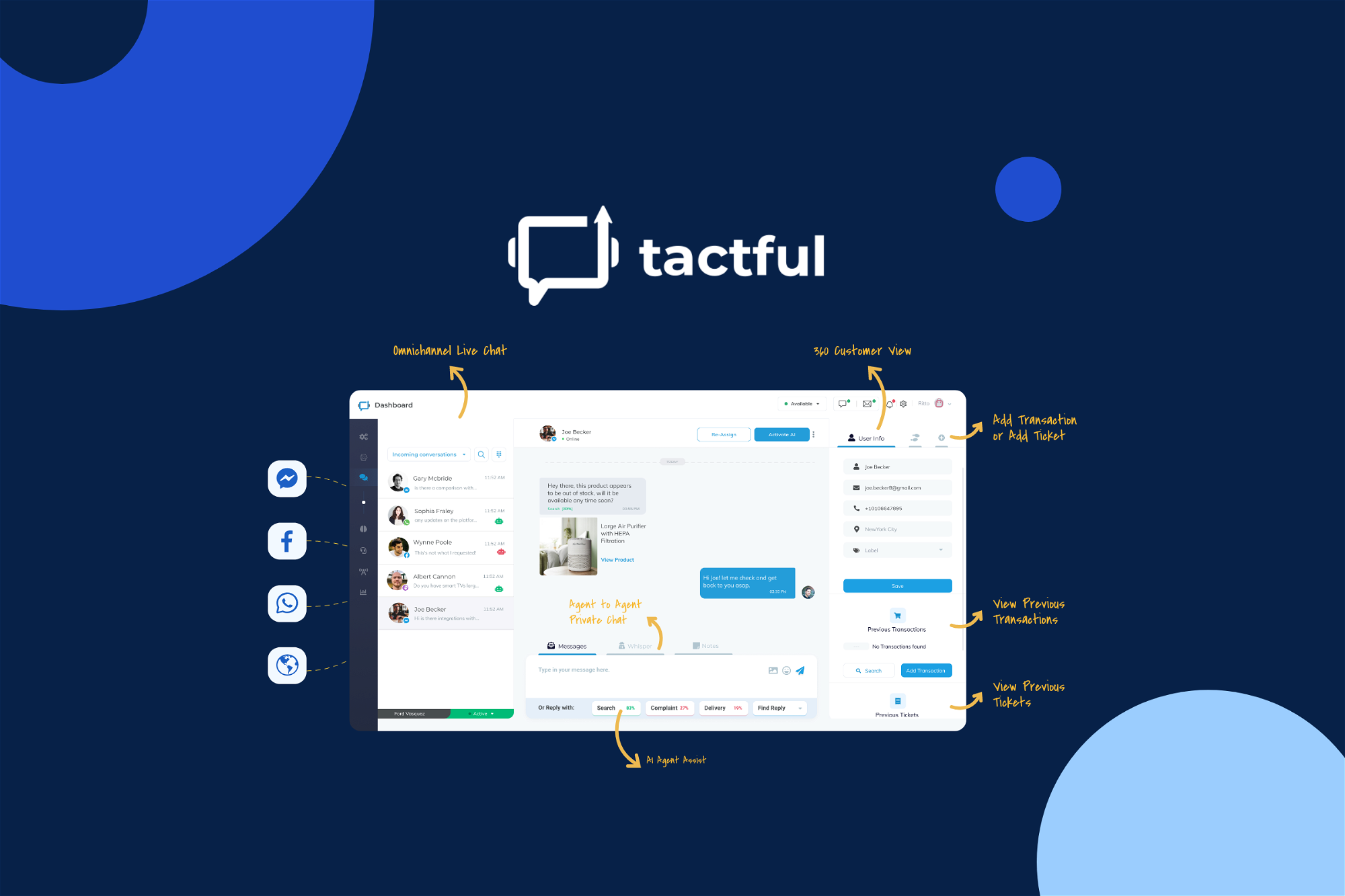 AppSumo Deal for Tactful Cognitive Helpdesk