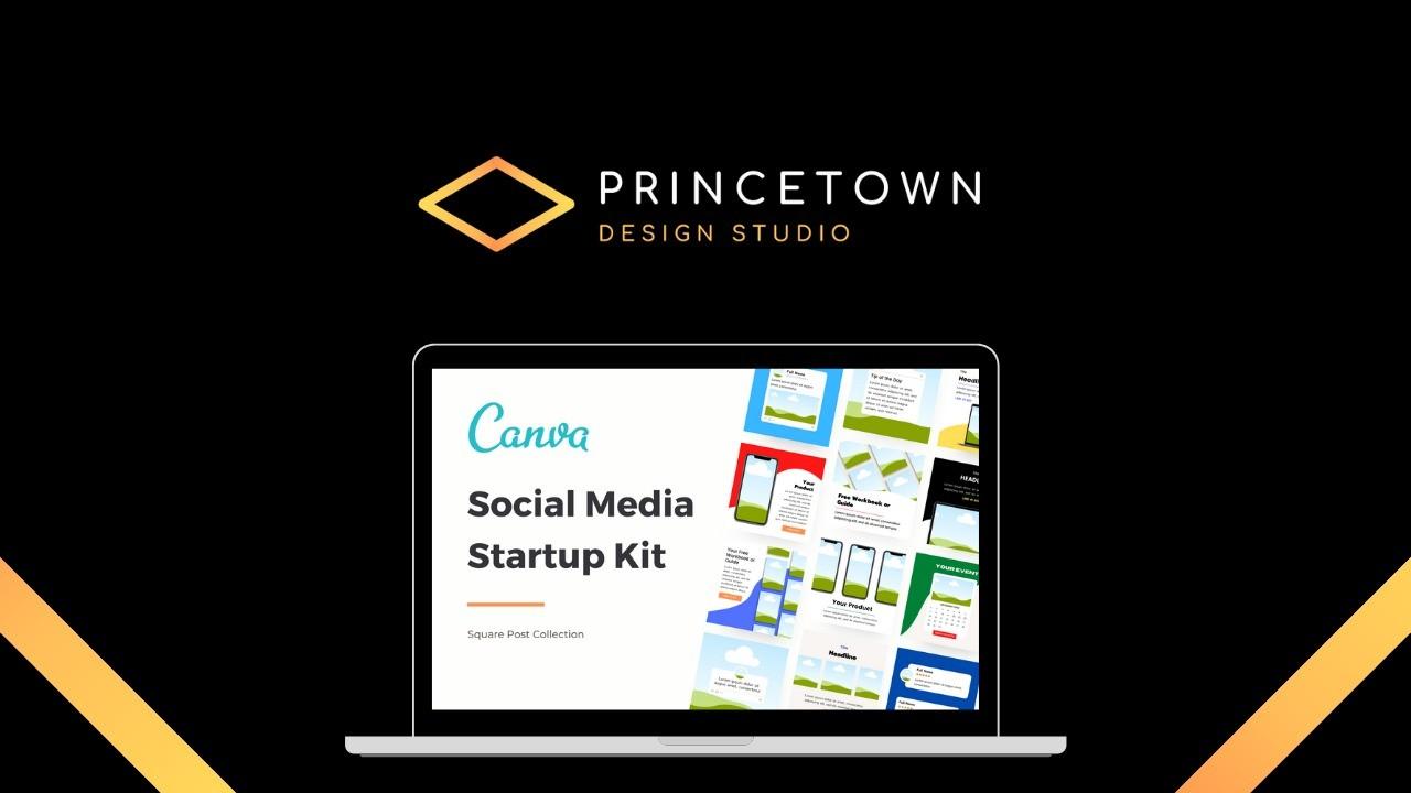 AppSumo Deal for Canva Template – Social Media Startup Kit
