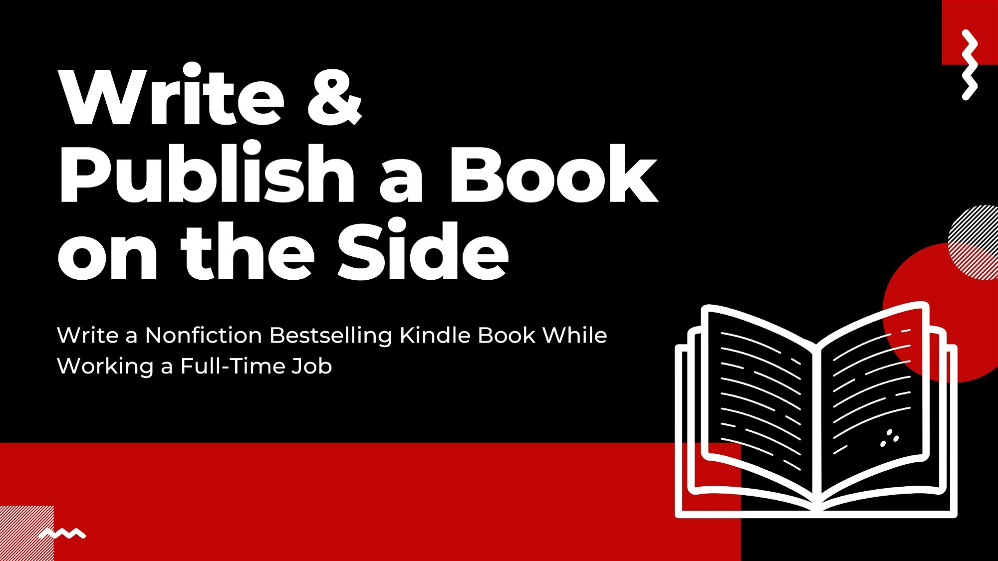 AppSumo Deal for Write & Publish a Book on the Side [Short Course]