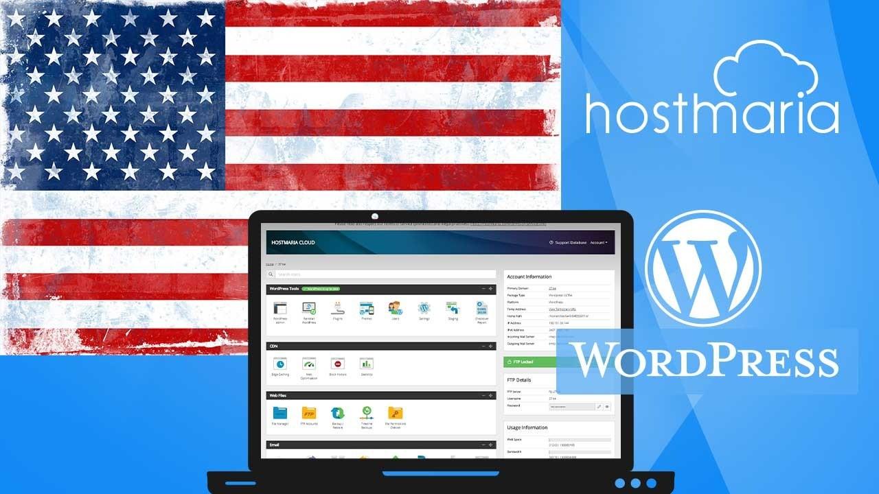 AppSumo Deal for HostMaria - WordPress Ultra - Shared Cloud Hosting (Dallas, USA)