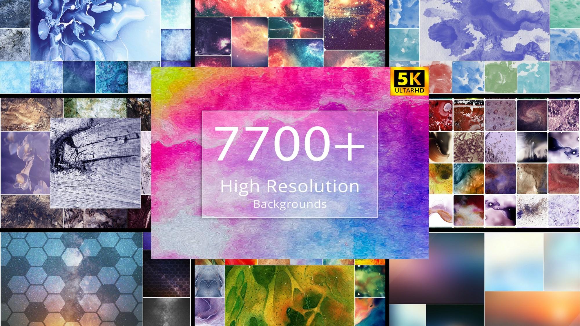 AppSumo Deal for 7700+ High-Resolution Backgrounds Bundle