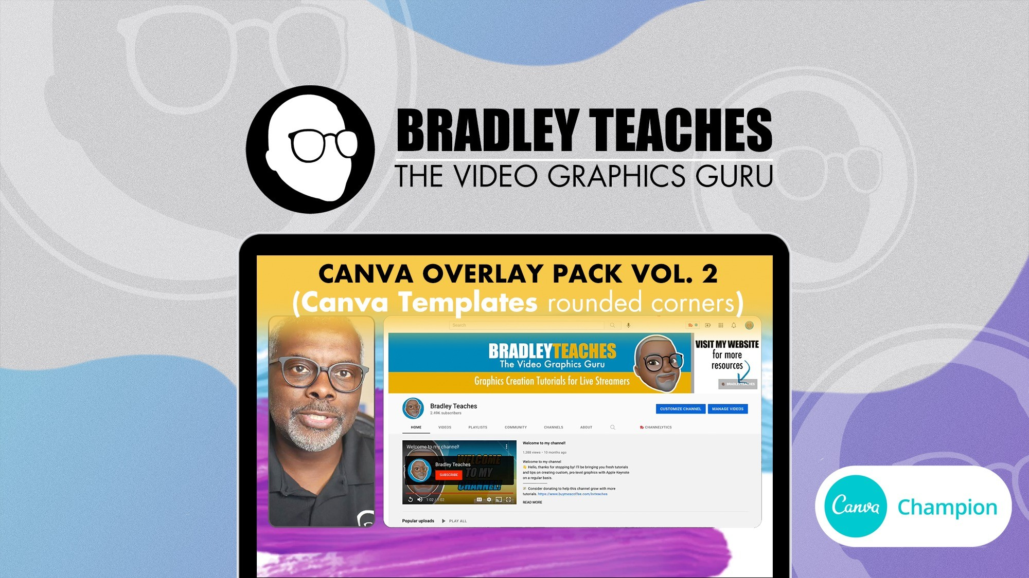 AppSumo Deal for Overlay Pack - Canva Templates Vol. 2