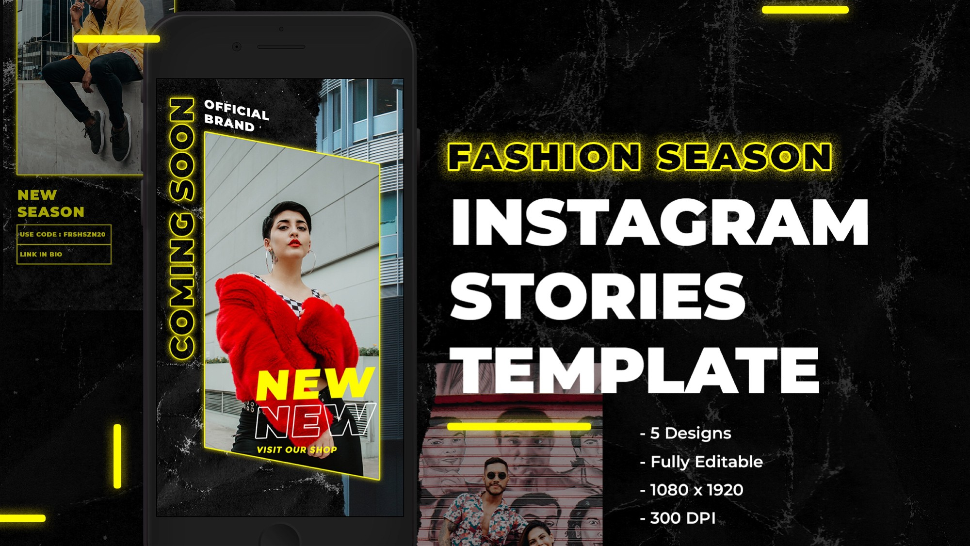 AppSumo Deal for Instagram Stories Template for Fashion Brands