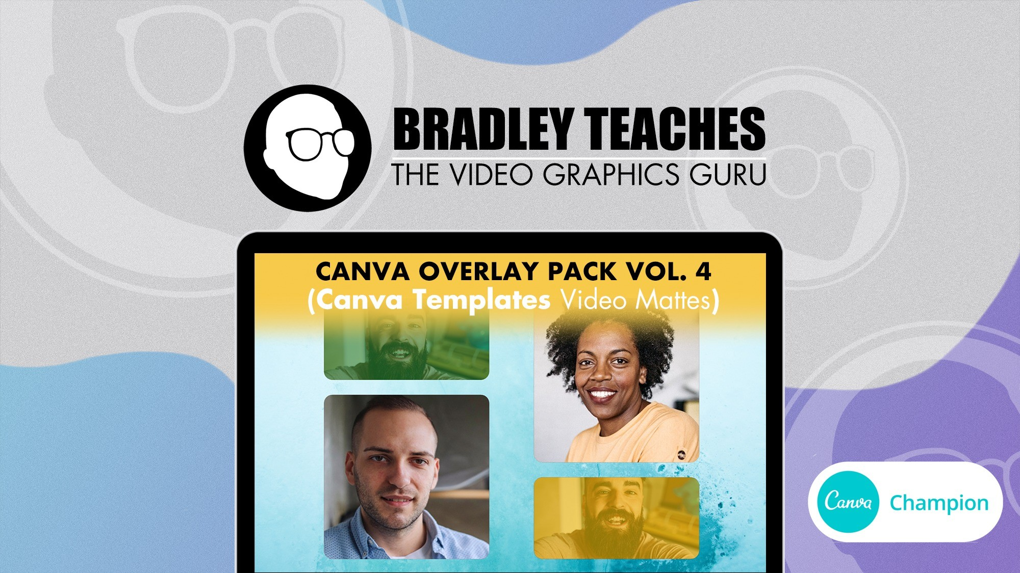 AppSumo Deal for Overlay Pack - Canva Templates Vol. 4