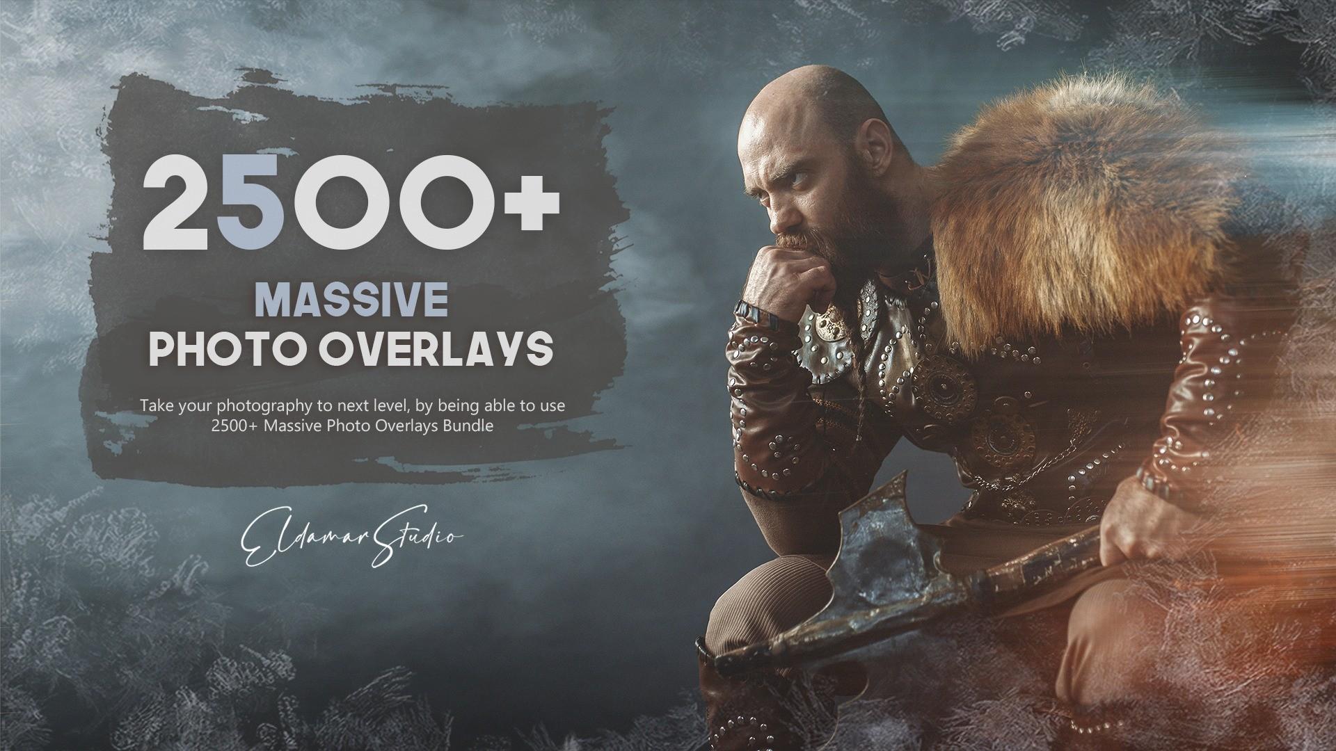 AppSumo Deal for 2500+ Massive Photo Overlays Bundle