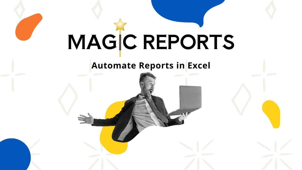 AppSumo Deal for Magic Reports - Automate Bulk Report Creation Using Excel