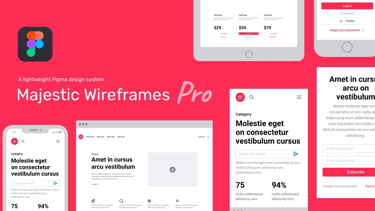 AppSumo Deal for Majestic Wireframes Pro Figma UI Kit