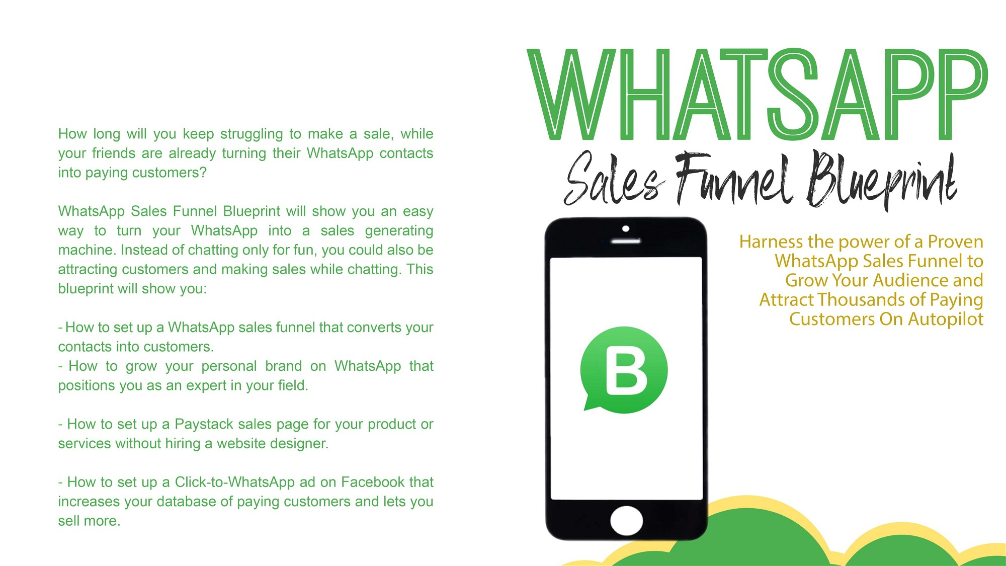 AppSumo Deal for WhatsApp Sales Funnel BluePrint
