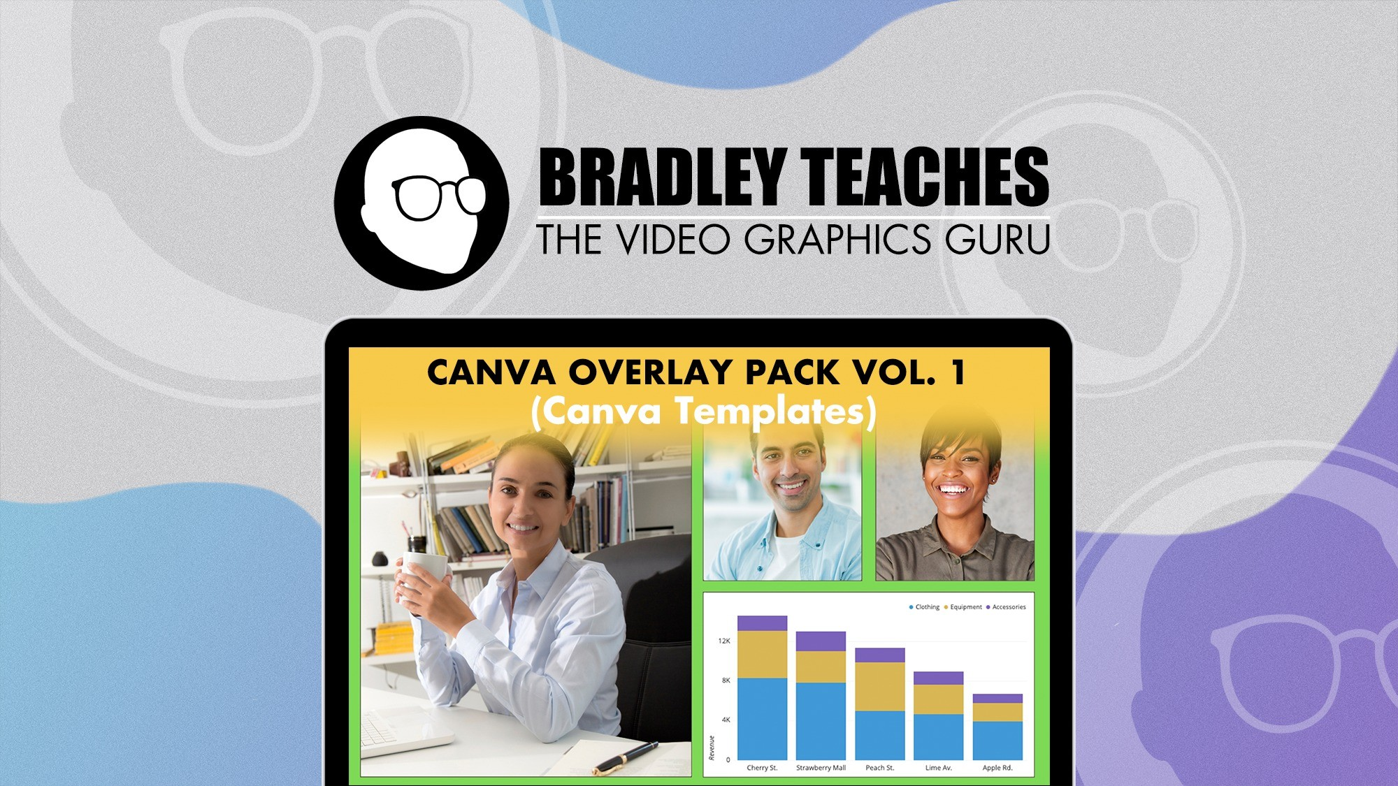 AppSumo Deal for Overlay Pack- Canva Templates Vol. 1