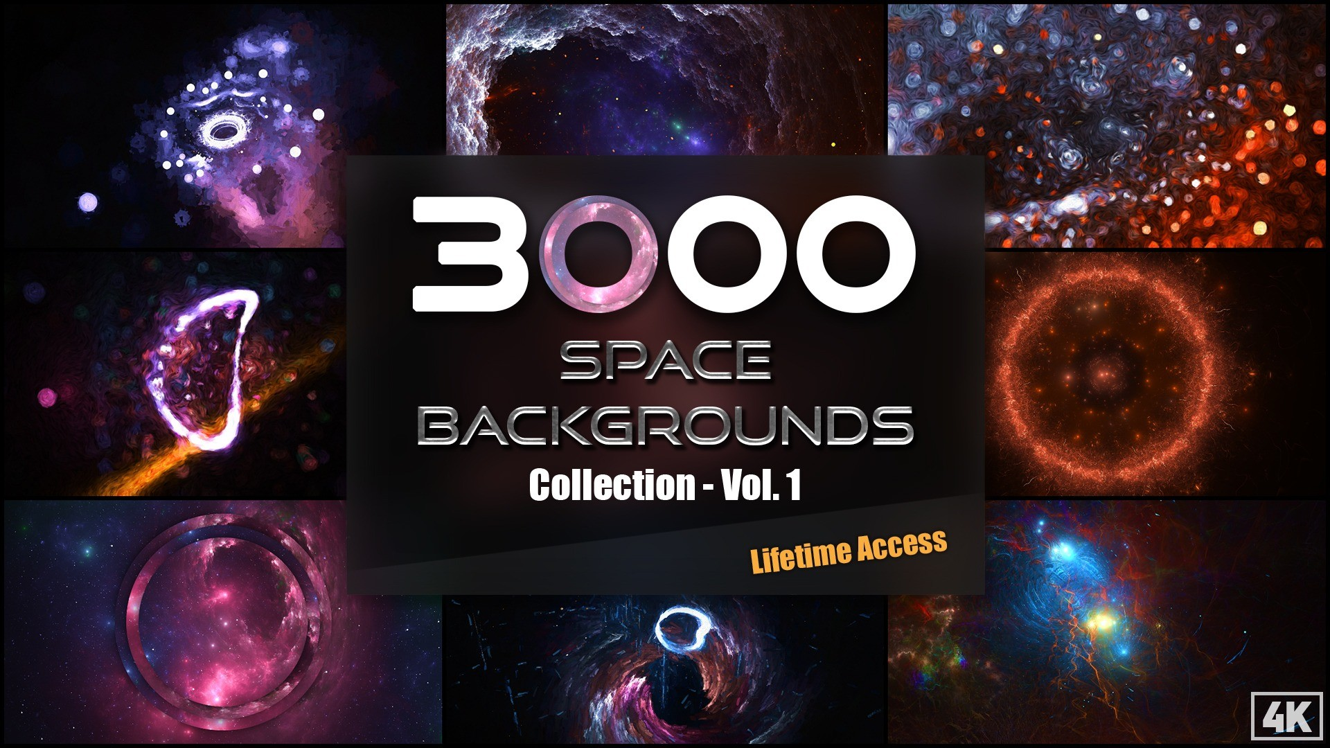 AppSumo Deal for 3000+ Space Backgrounds and Textures Collection – Vol.1