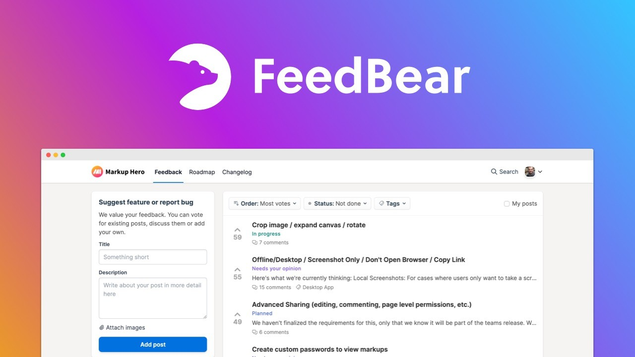 AppSumo Deal for FeedBear - Plus Exclusive