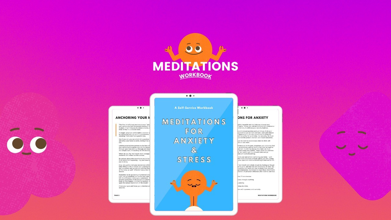 AppSumo Deal for Meditations for Anxiety & Stress (Workbook)