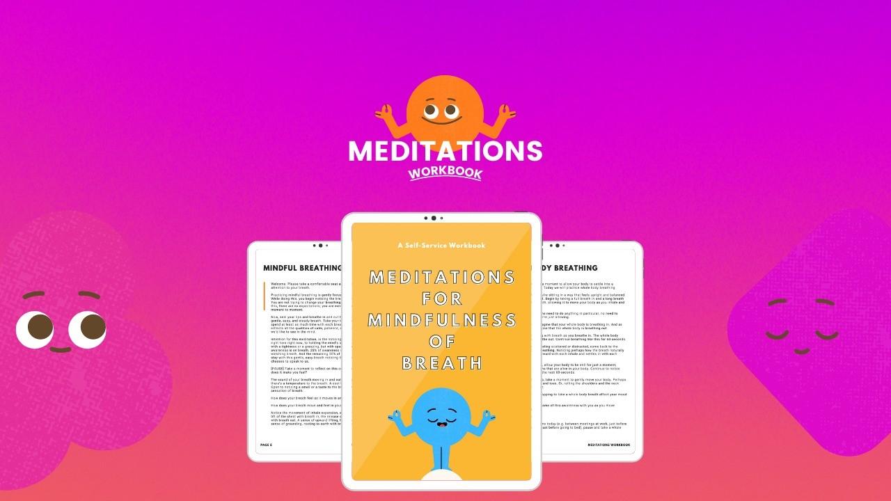 AppSumo Deal for Meditations for Mindfulness of Breath (Workbook)