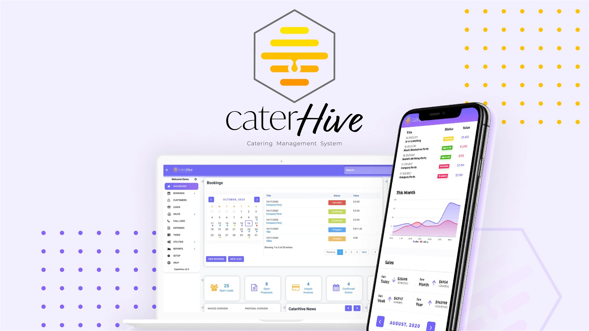 AppSumo Deal for CaterHive