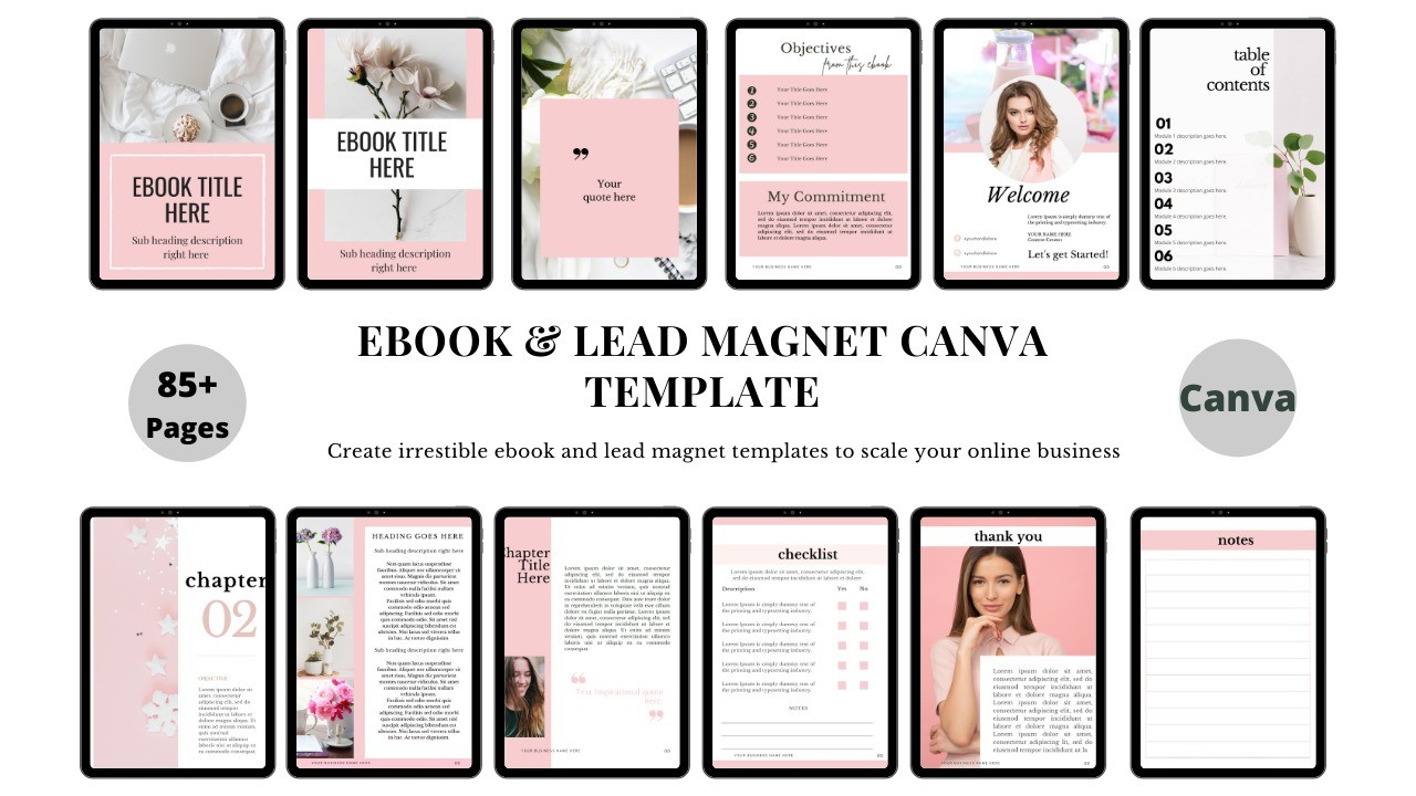 AppSumo Deal for Ebook & Lead Magnet Canva Templates