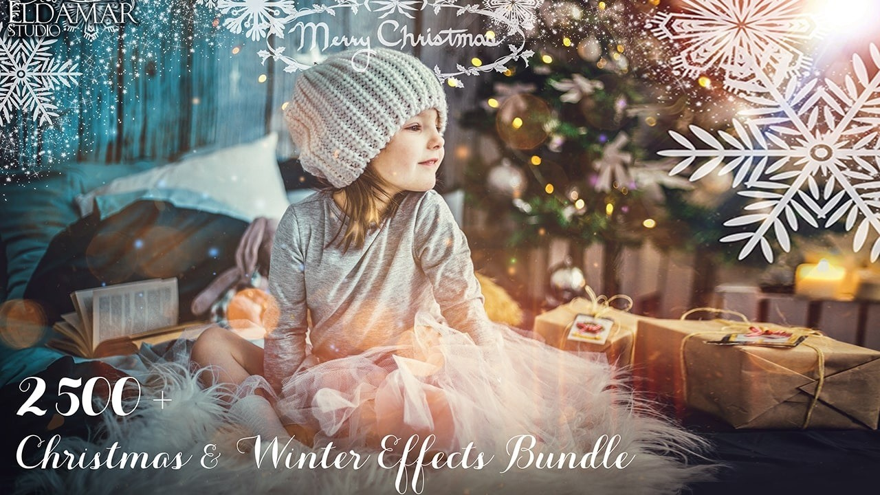 AppSumo Deal for 2500+ Christmas & Winter Effects Bundle