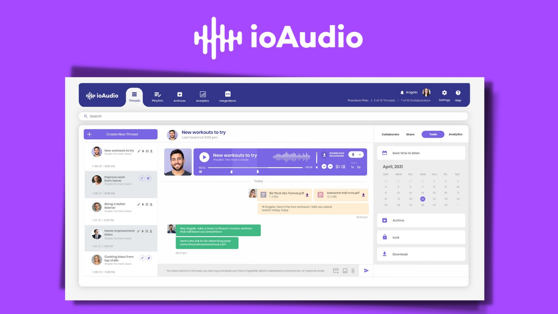 """AppSumo Deal for ioAudio """"Web app to create personal, podcast-like streaming audio"""""""