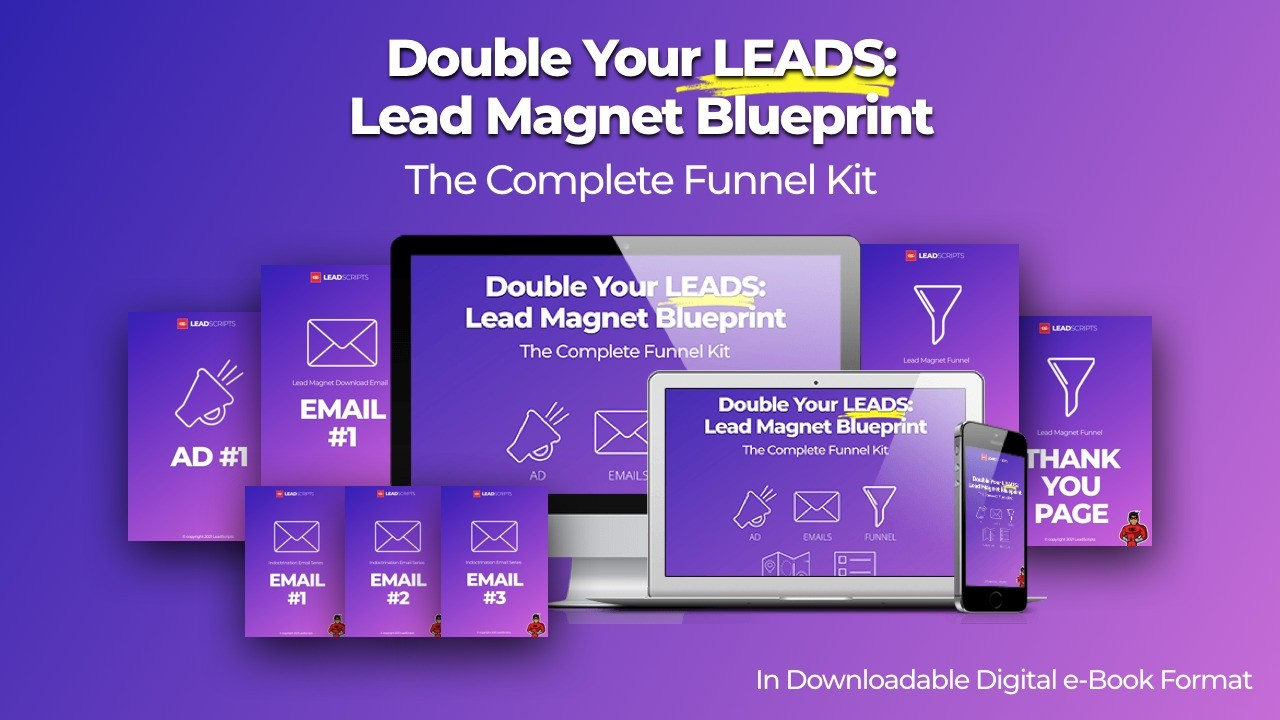 AppSumo Deal for Double Your Leads - Lead Magnet Blueprint - The Complete Funnel Kit