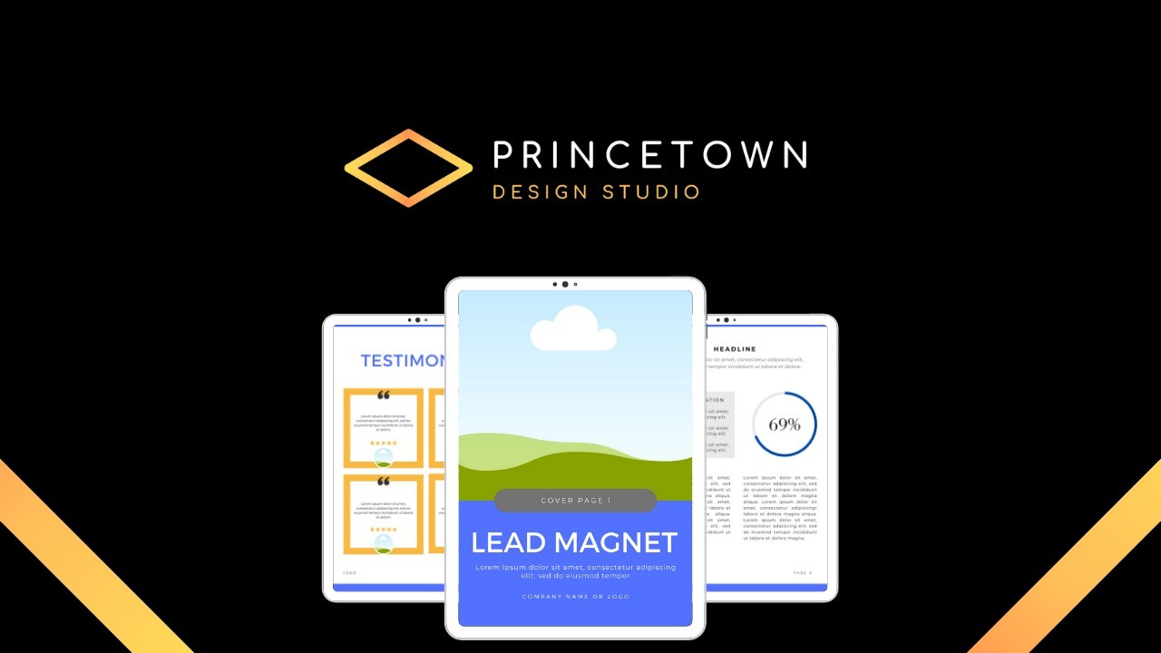 AppSumo Deal for Canva Lead Magnet Template (8.5x11)