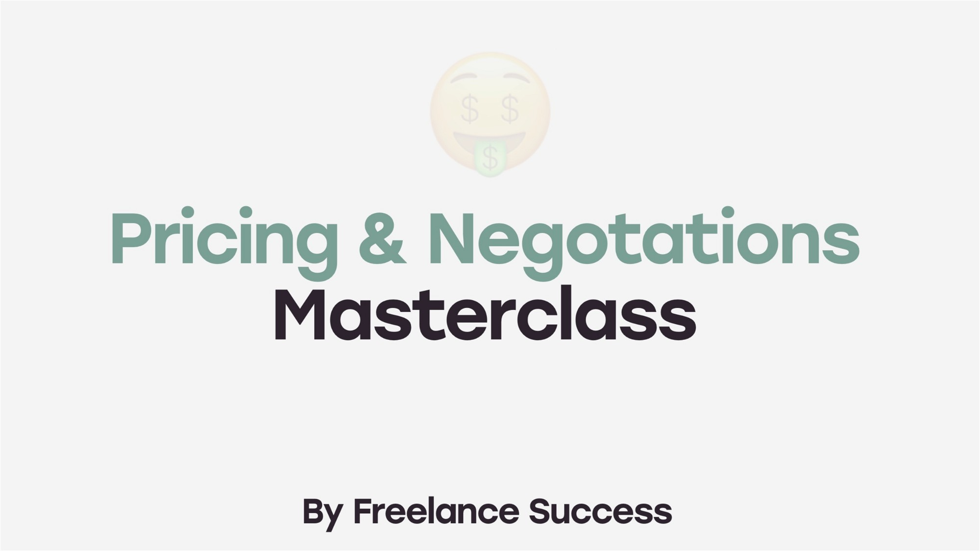 AppSumo Deal for Pricing & Negotiations Masterclass for Freelancers & Solopreneurs