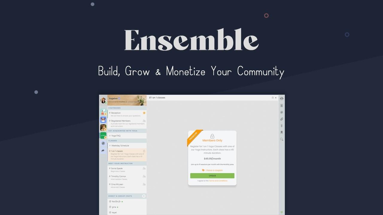 AppSumo Deal for Ensemble Chat