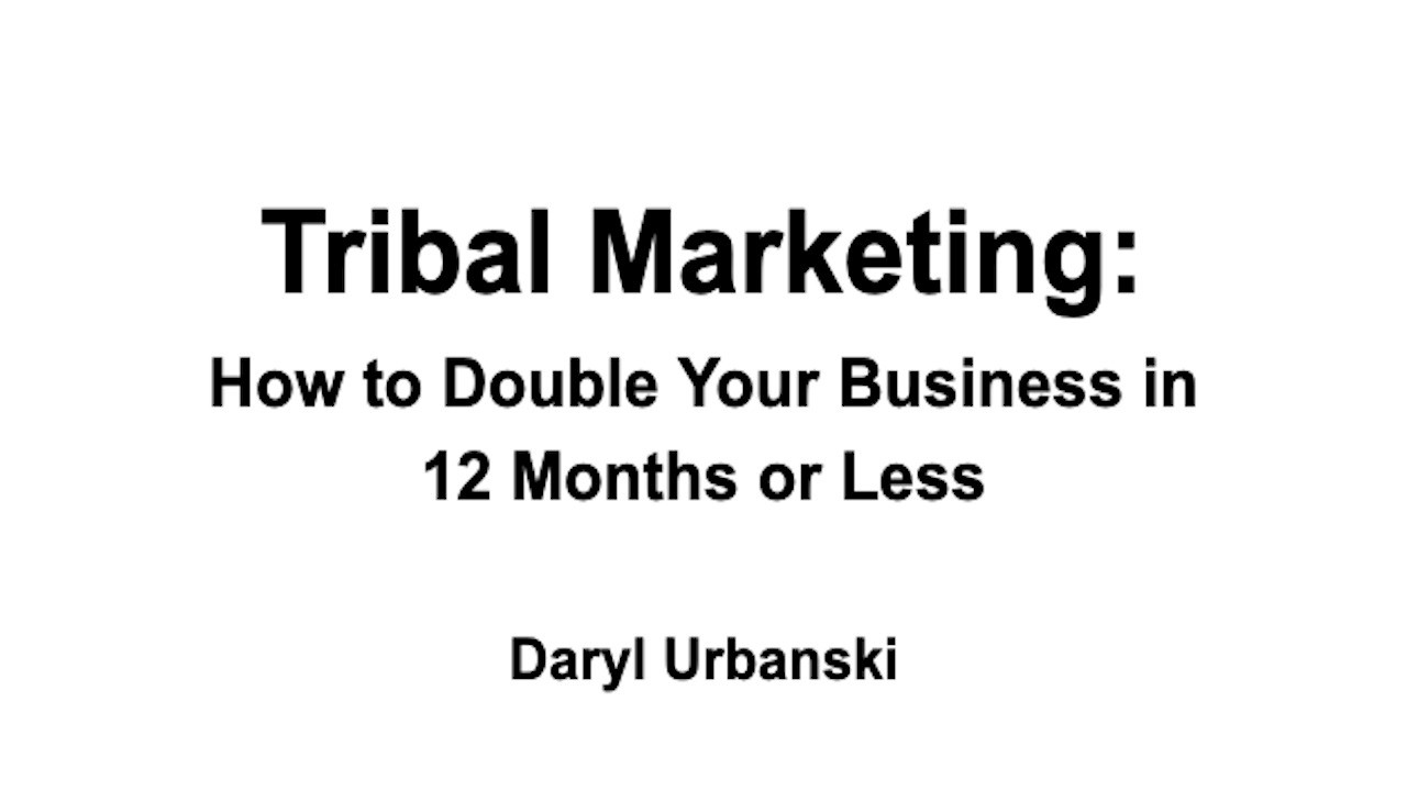 AppSumo Deal for Tribal Marketing: How to Double Your Business in 12 Months or Less