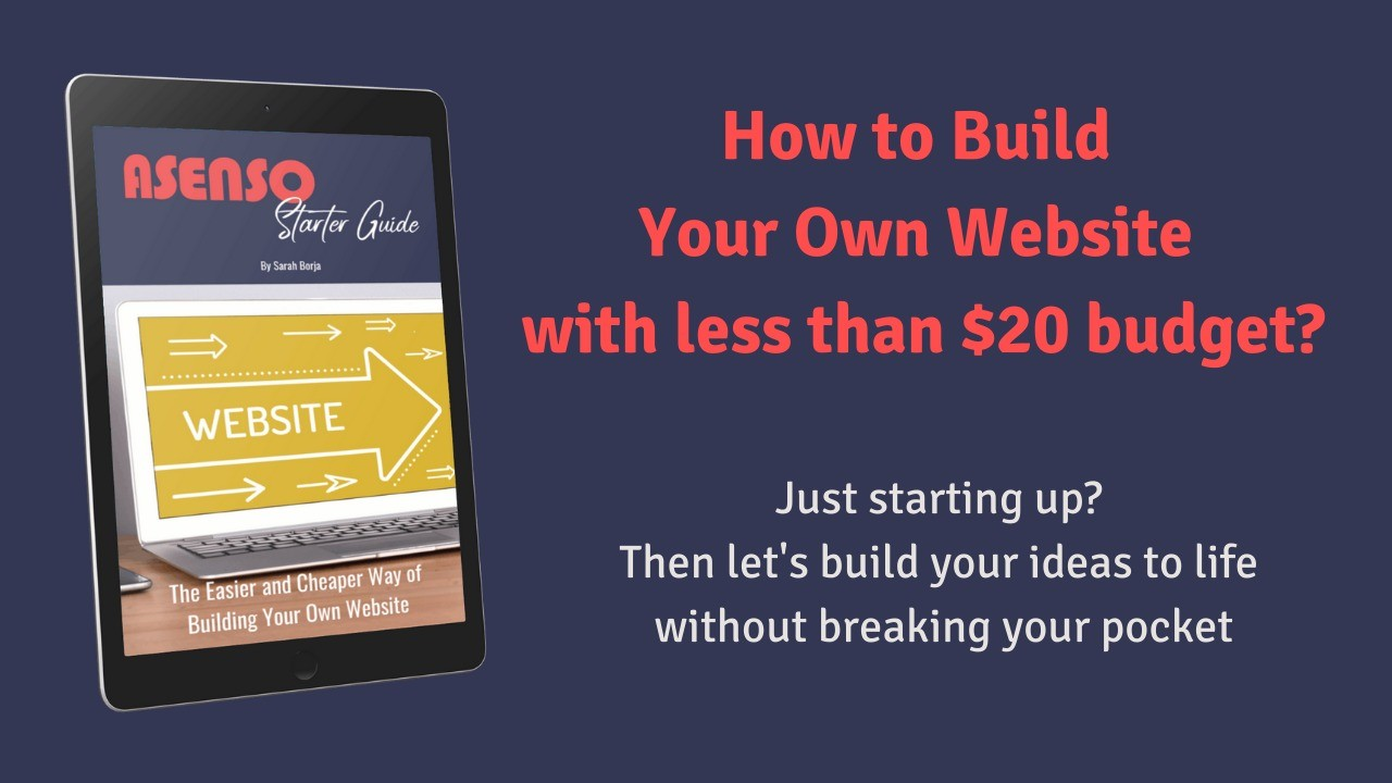 AppSumo Deal for Asenso Starter E-Book Guide