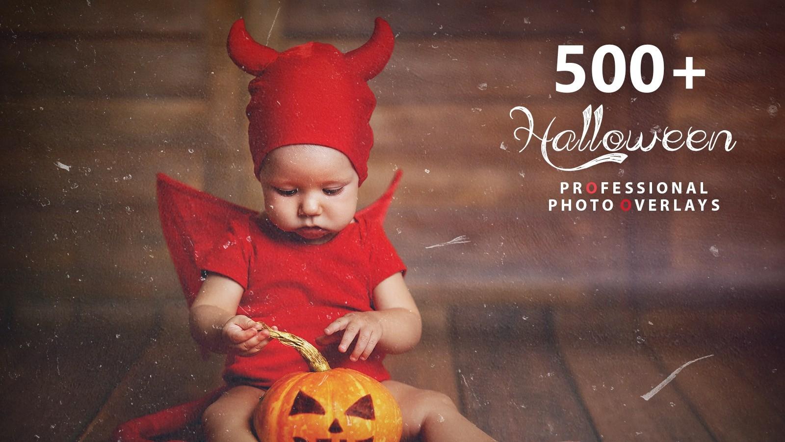 AppSumo Deal for 500+ Halloween Photo Overlays