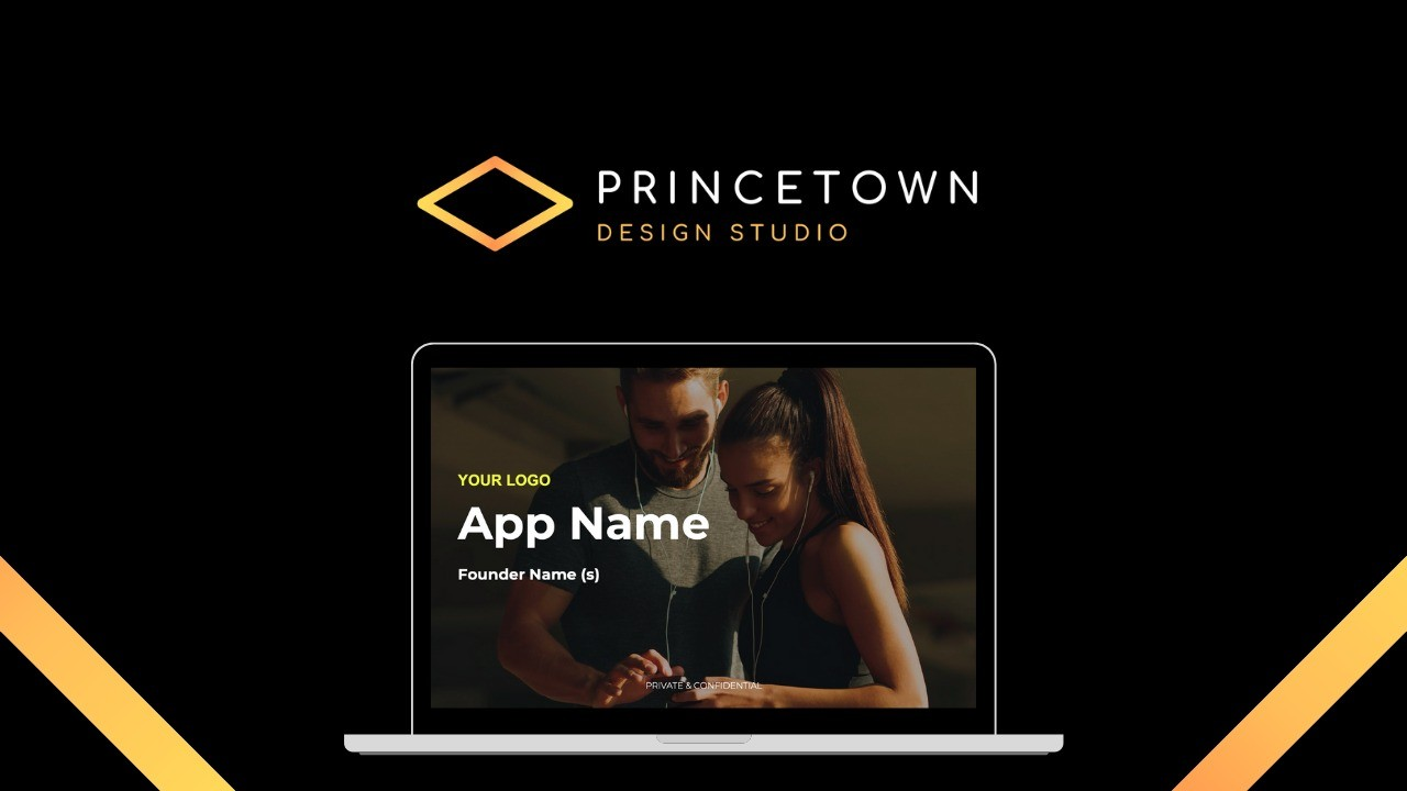 AppSumo Deal for Mobile App Pitch Deck – Fundraising Template
