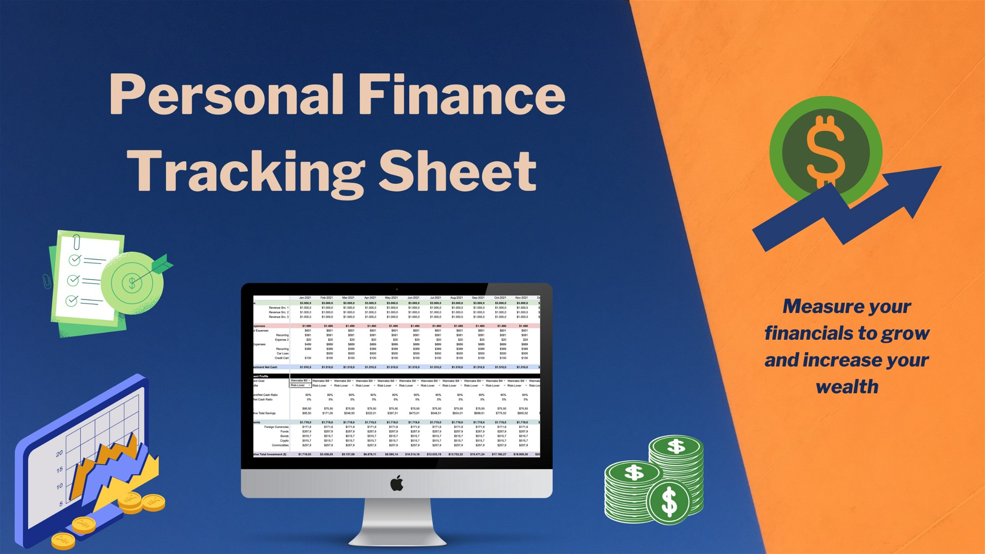 AppSumo Deal for Personal Finance Tracking Sheet