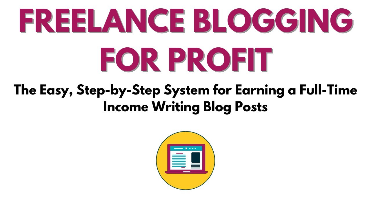 AppSumo Deal for Freelance Blogging for Profit: The Easy, Step-by-Step System for Earning a Full-Time Income Writing Blog Posts