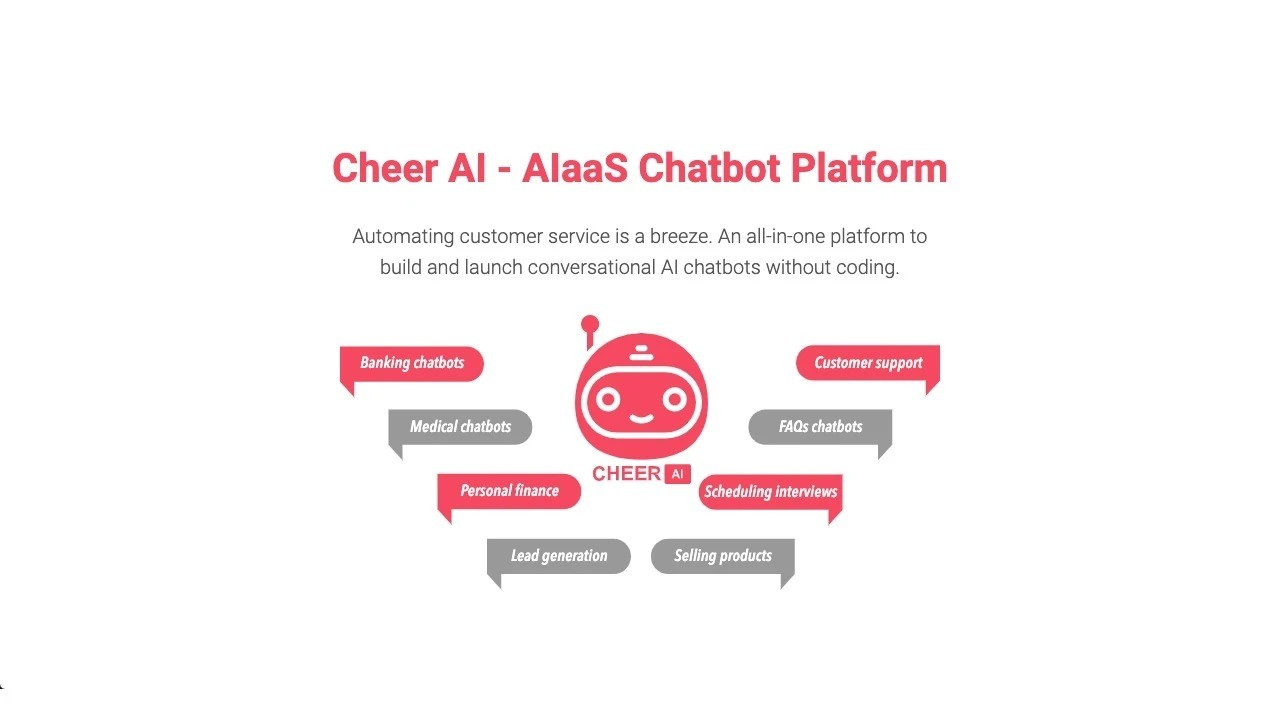 AppSumo Deal for Cheer AI - AIaaS Chatbot Platform