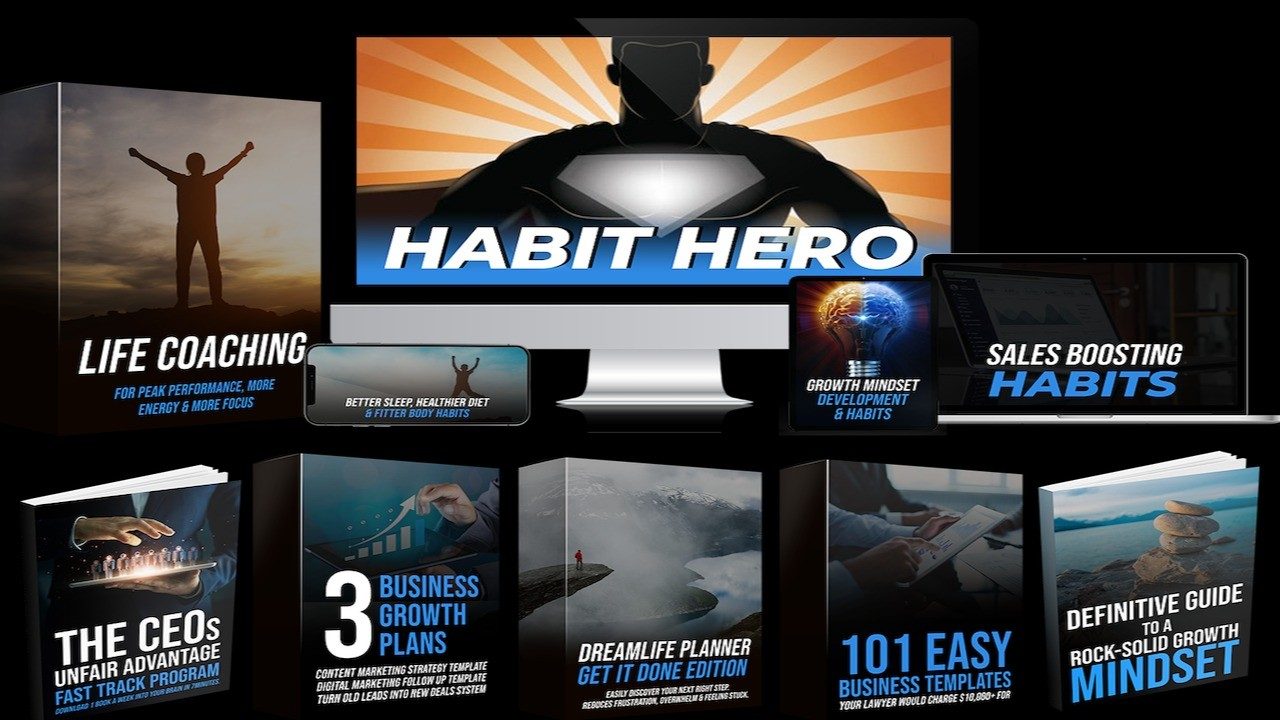 AppSumo Deal for Habit Hero: Your Personal Business, Fitness, Finances, Mindset Coach & Accountability Partner, All In One