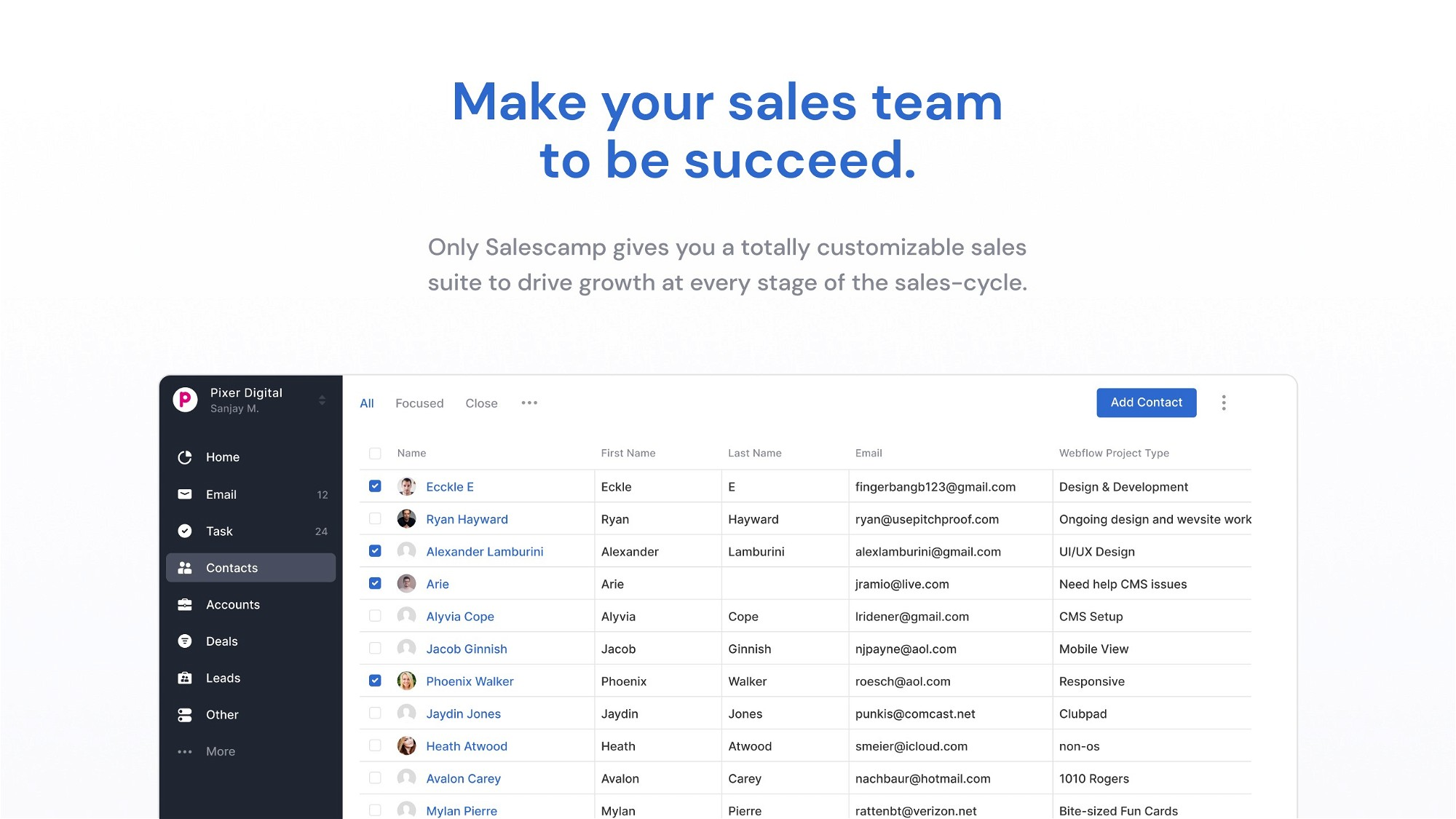 AppSumo Deal for Salescamp CRM