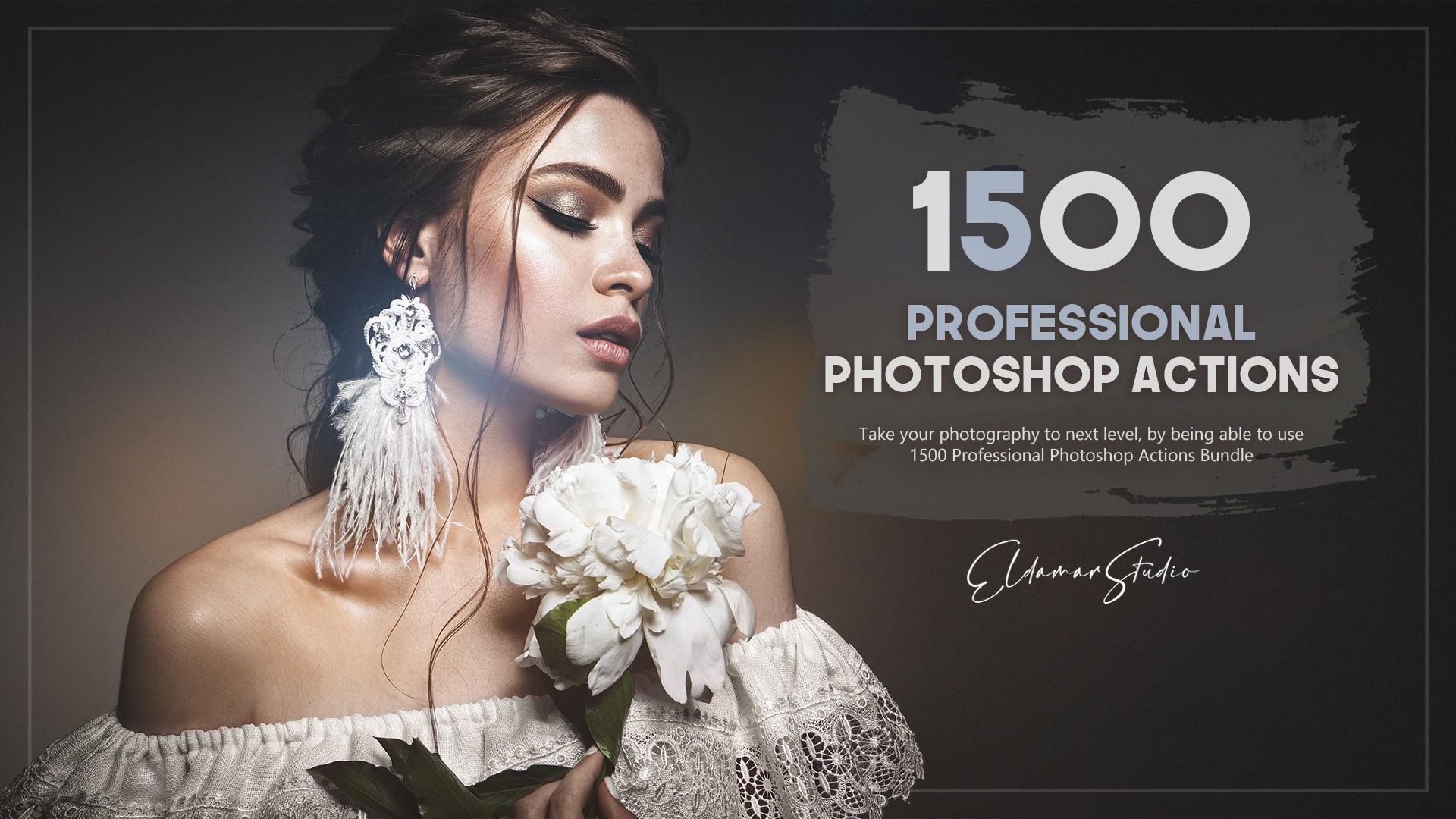 AppSumo Deal for 1500+ Professional Photoshop Actions Bundle