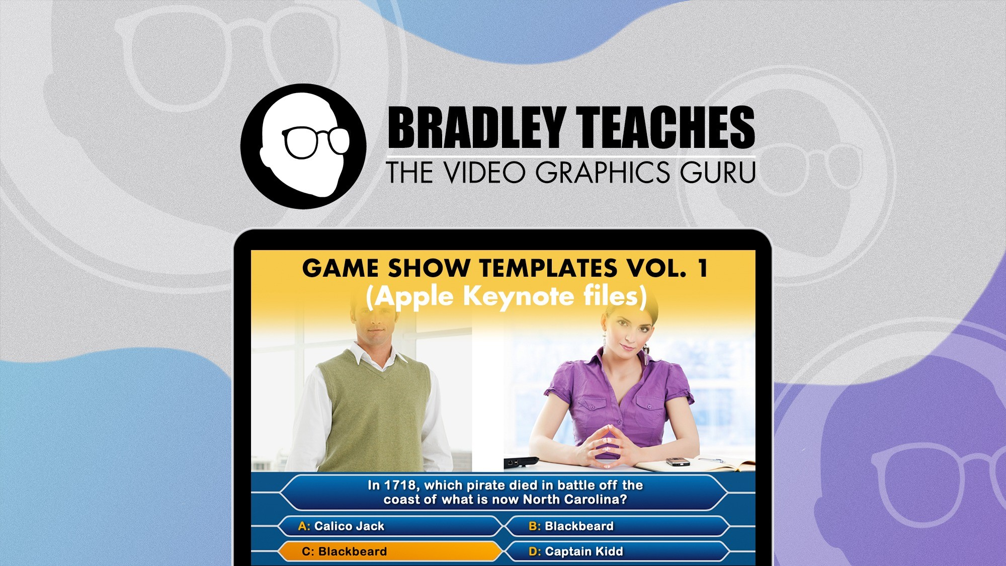 AppSumo Deal for Games Show Templates Vol. 1