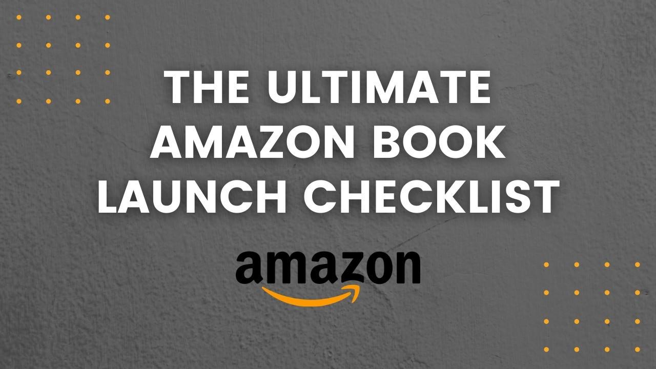 AppSumo Deal for The Ultimate Amazon Book Launch Checklist