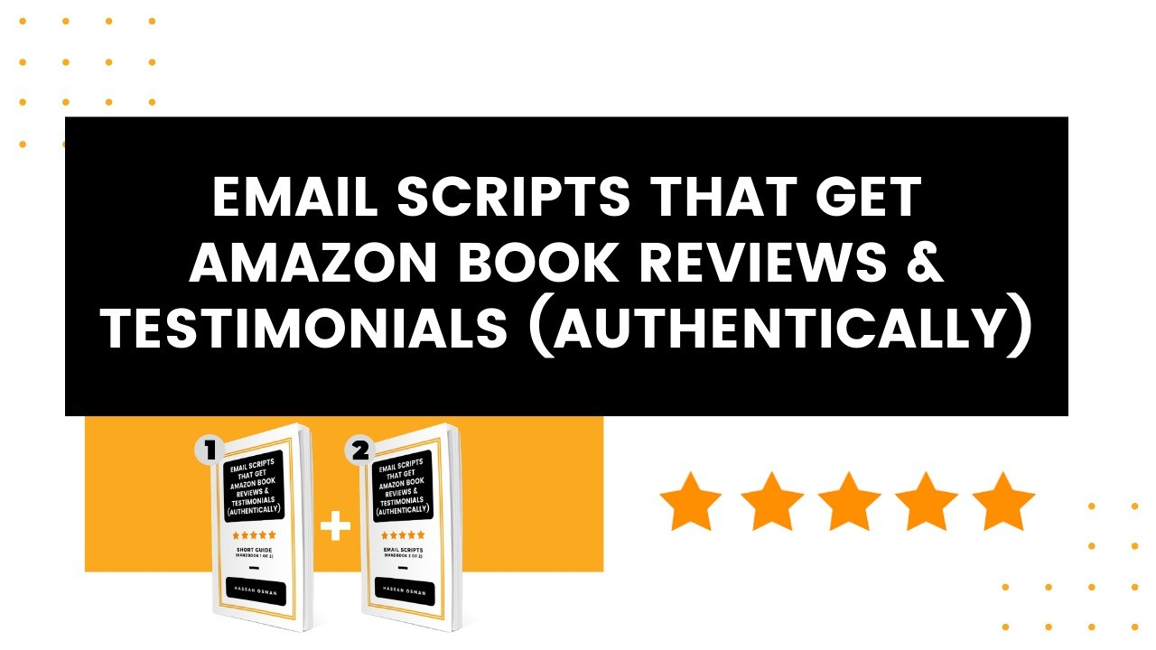 AppSumo Deal for Email Scripts That Get Amazon Book Reviews & Testimonials (Authentically)