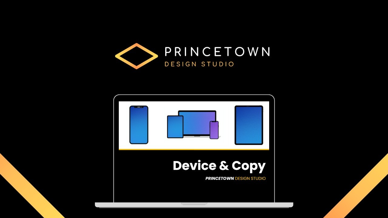 AppSumo Deal for Device & Copy Visuals Template for PowerPoint & Google Slides