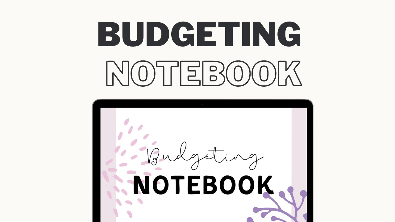AppSumo Deal for Budget Notebook, Budgeting Notebook Printable