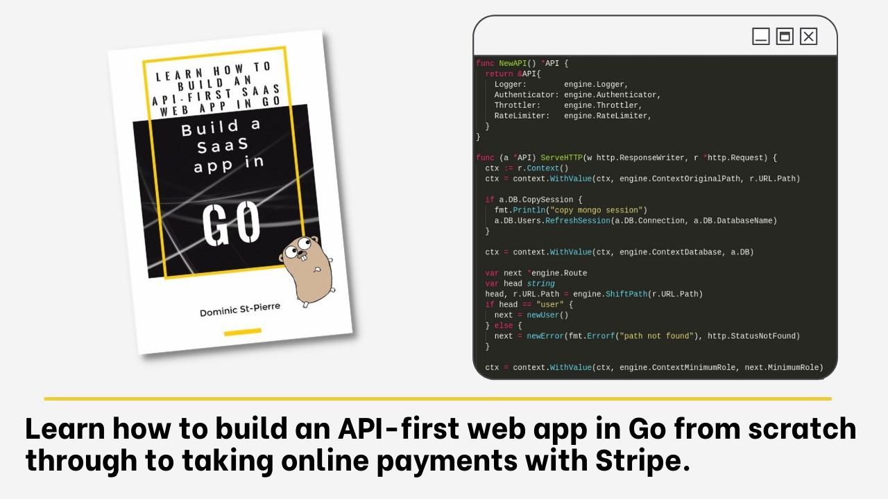 AppSumo Deal for Build SaaS apps in Go