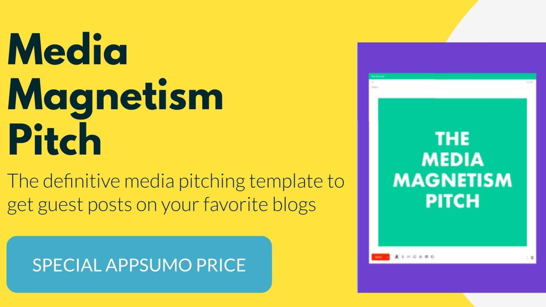 AppSumo Deal for Media Magnetism Pitch