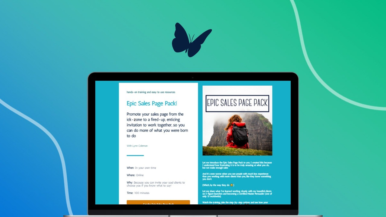 AppSumo Deal for Epic Sales Page Pack