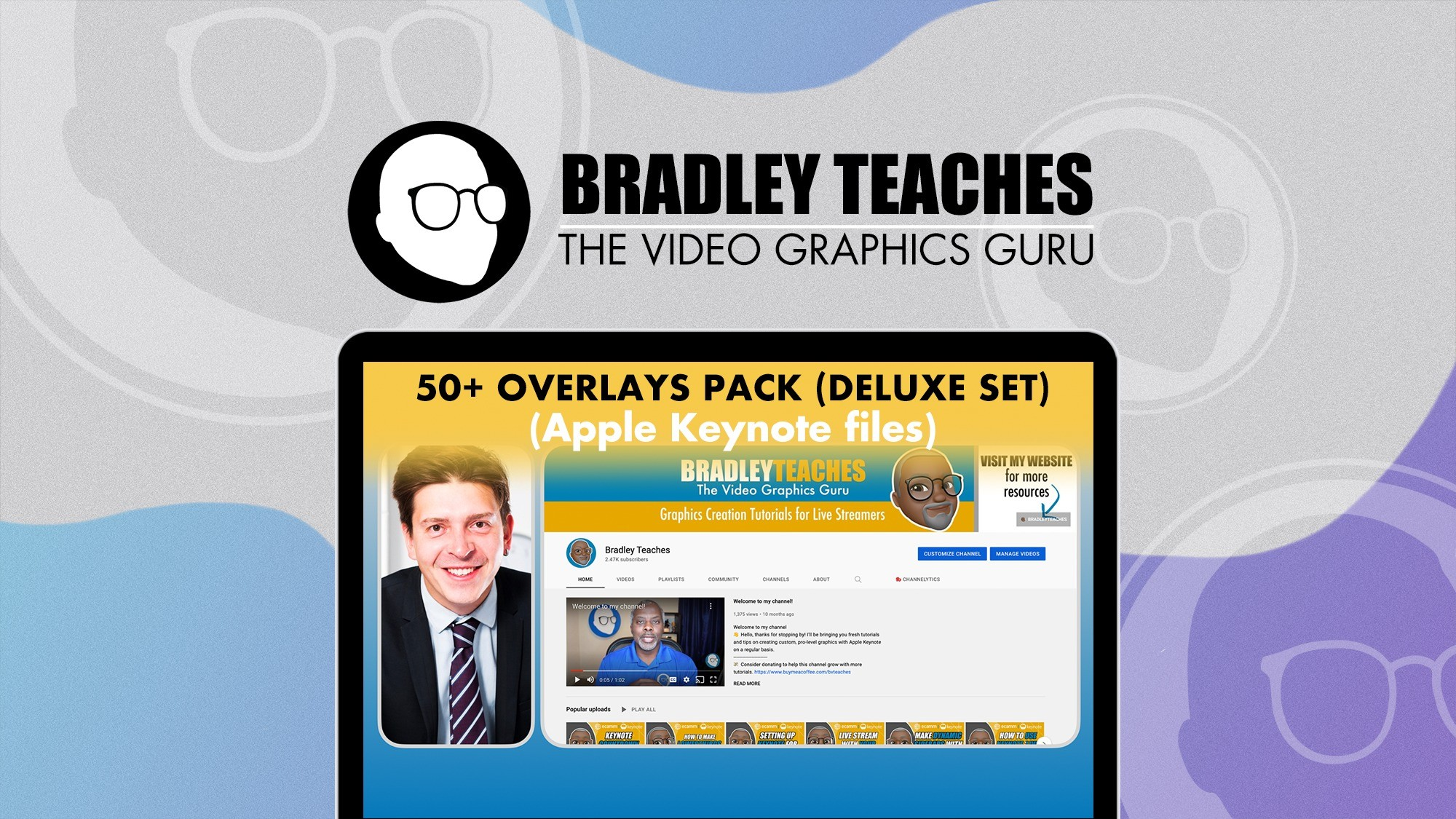 AppSumo Deal for 50+ Overlays Pack (Deluxe Set)